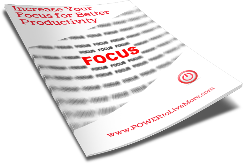 focus for better productivity