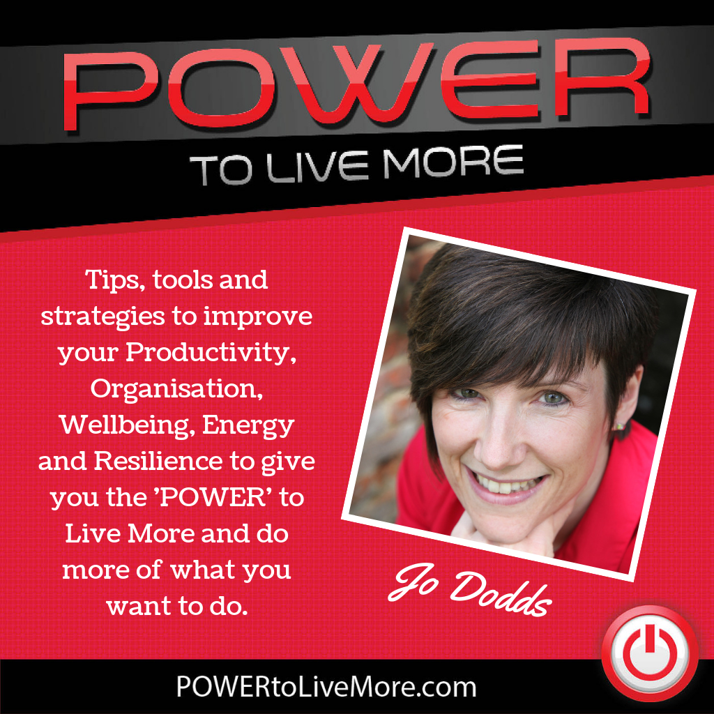 power to live more podcast